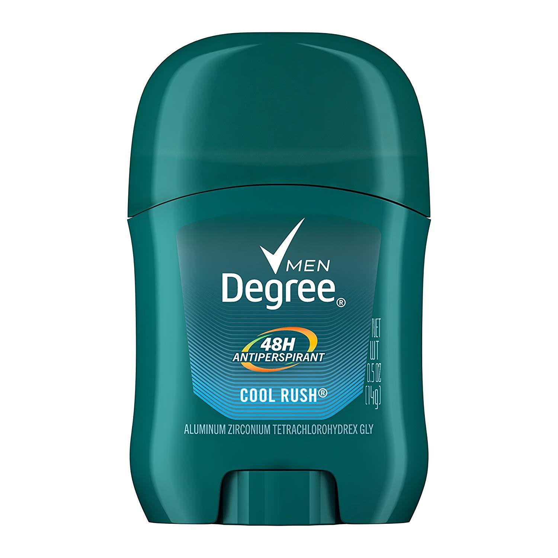 Degree Men Original Protection Antiperspirant Deodorant, Cool Rush, 0.5 oz - $0.92 at Amazon + FS with Prime [travel size]