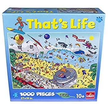 That's Life - 1000 Piece Puzzle - The Bondi Beach- $4.99 at Amazon + FS with Prime