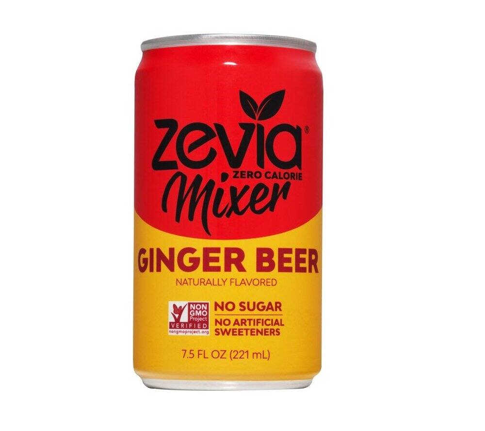 Zevia Ginger Beer, Zero Calorie Drink Mixer with Stevia Leaf Extract, 7.5 Fl Oz, Pack of 12- $7.58 at Amazon or less with subscribe and save