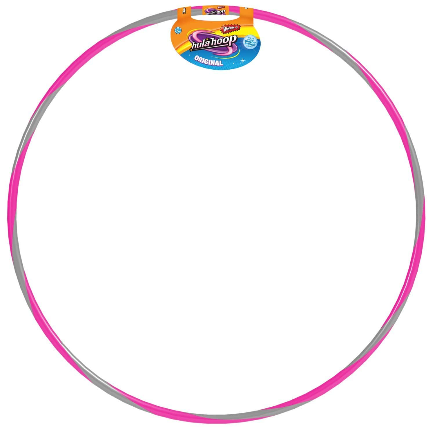Wham-O 81553 Original Striped Hula Hoop- $8.74 at Amazon + FS with Prime