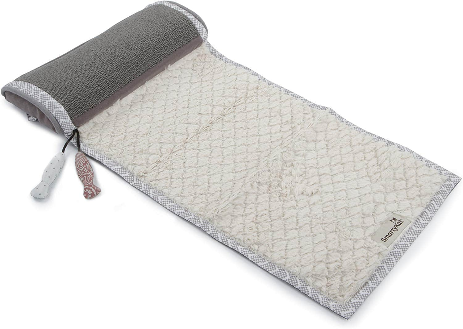 SmartyKat ScratchNRelax Cat Scratcher Mat and Lounge- $6.75 at Amazon + FS with Prime