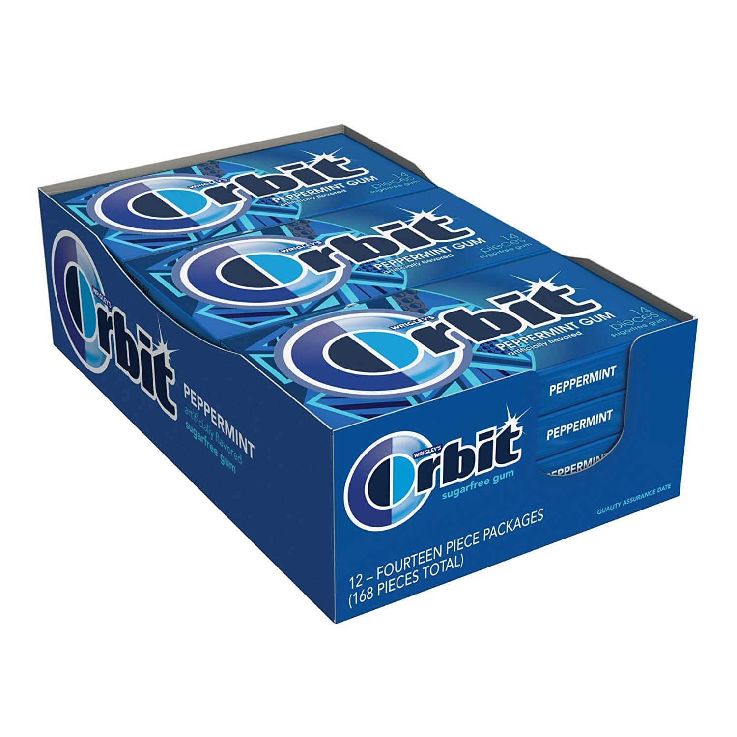 168-Piece Orbit Peppermint Gum - $5.59 at Amazon with subscribe and save (or less) $6.99