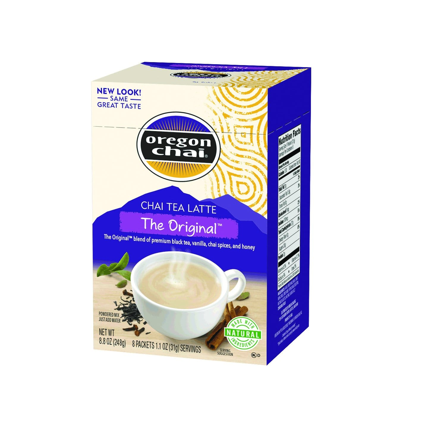 48 packets (3.3 lbs)  - Oregon Chai Original Chai Tea Latte Powdered Mix - $11.69 at Amazon + FS with Prime (or less w/ subscribe and save)