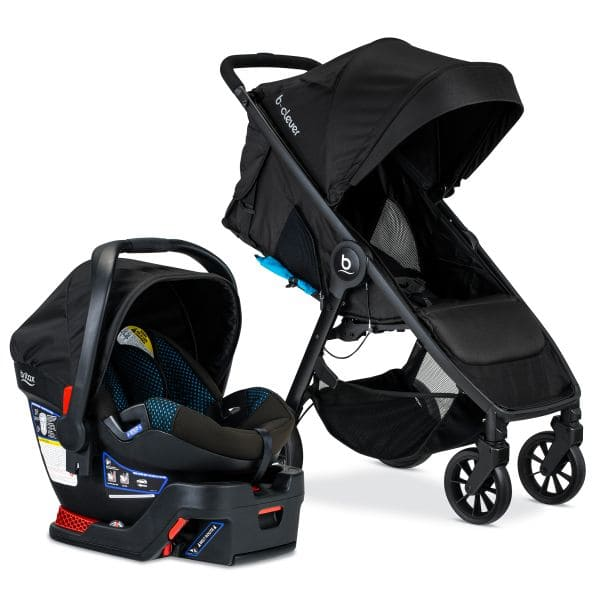 Britax B-Clever & B-Safe 35 Travel System, Cool Flow Teal YMMV $150