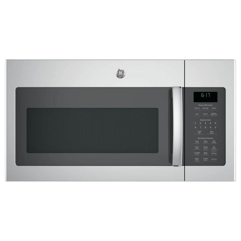 35% off GE 1.7 cu. ft. Over the Range Microwave with Sensor Cooking in Stainless Steel - Home Depot - $258 (10/1-10/21)