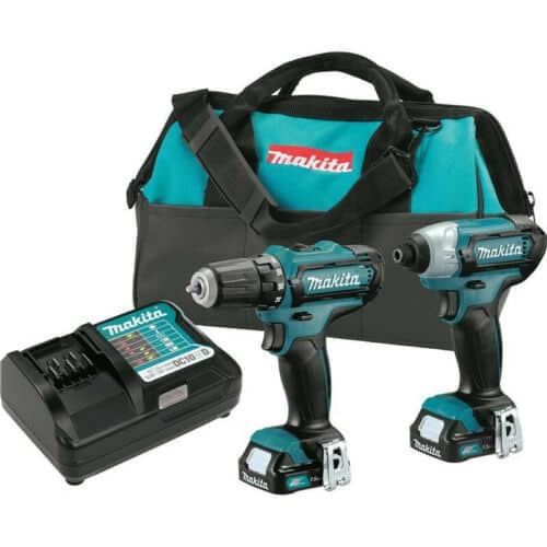 "Makita CXT 12V 1/4"" Impact & 3/8"" Drill Driver Kit CT226-R Certified Refurb - $85.49 + Free Shipping"