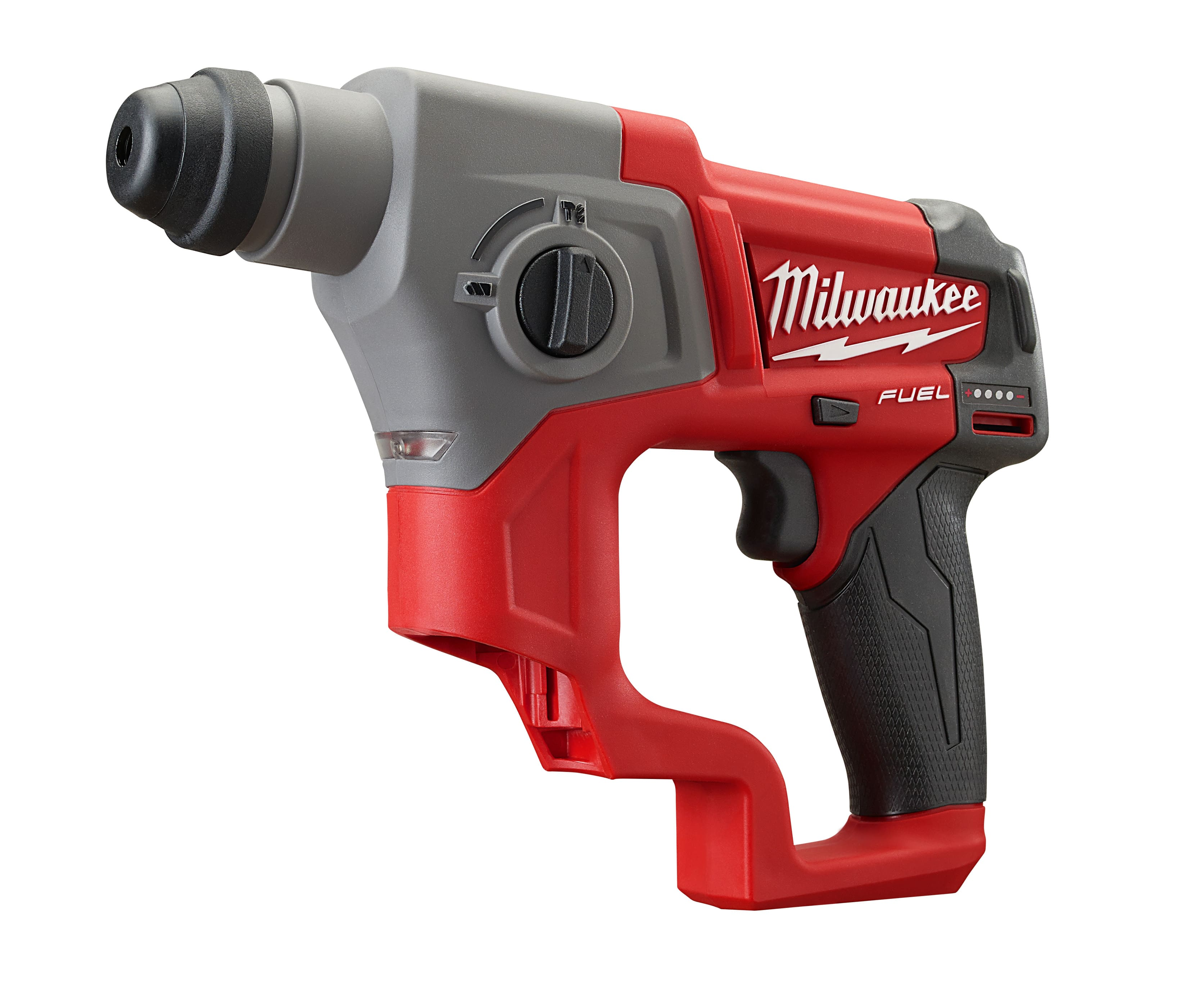 Milwaukee® M12 FUEL™ Cordless Rotary Hammer Drill, 5/8 in Keyless/SDS Plus Chuck, 12 V, Lithium-Ion Battery - $98