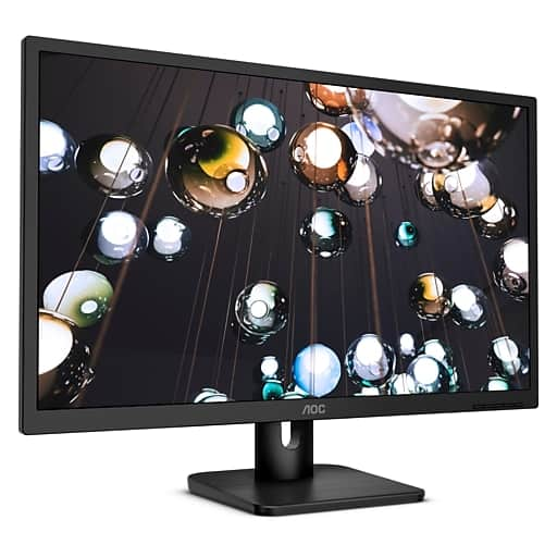 """AOC 27E1H 27"""" Full HD LED Monitor, Black shipped for $105 after coupon"""