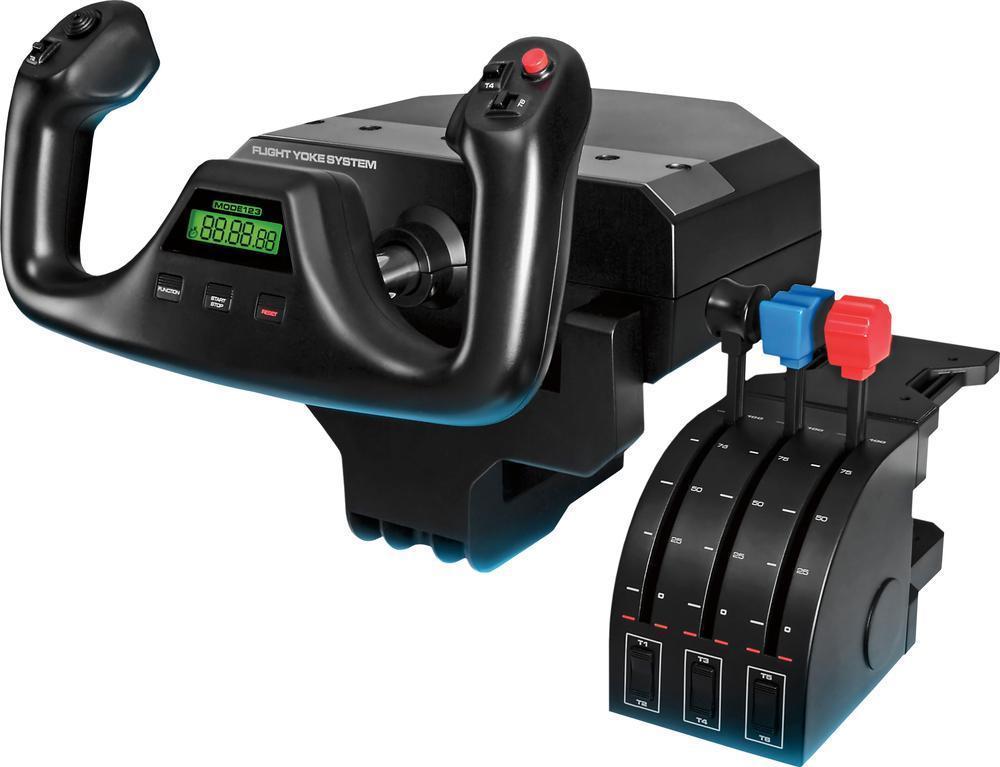 Saitek - Pro Flight Yoke System Gaming Controller for PC for $169.99 w/FS from Best Buy eBay store