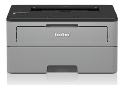 Brother Monochrome Compact Laser Printer with Wireless and Duplex Printing (Refurbished) and FS for New Customers $71.99