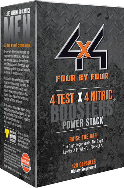 4x4 Power Nitric Oxide stack workout supplement 82% off $19.80 + FS