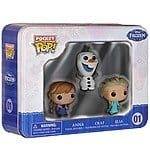 Disney Frozen Pocket Pop! 3 pack tin Target for $7  YMMV