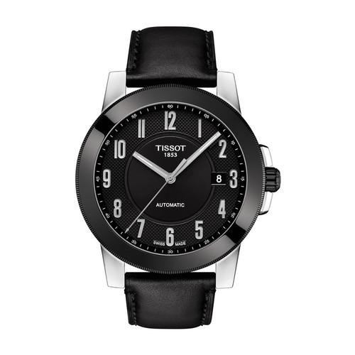 Men's Gentleman Automatic Leather Strap Watch, 44mm $189.97