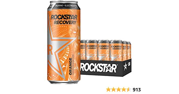 36ct Rockstar Energy Drink, Recovery Orange as low as $25.06 via S&S - $25.06