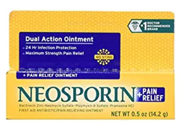 Neosporin + Pain Relief .50oz @ Amazon $3.69