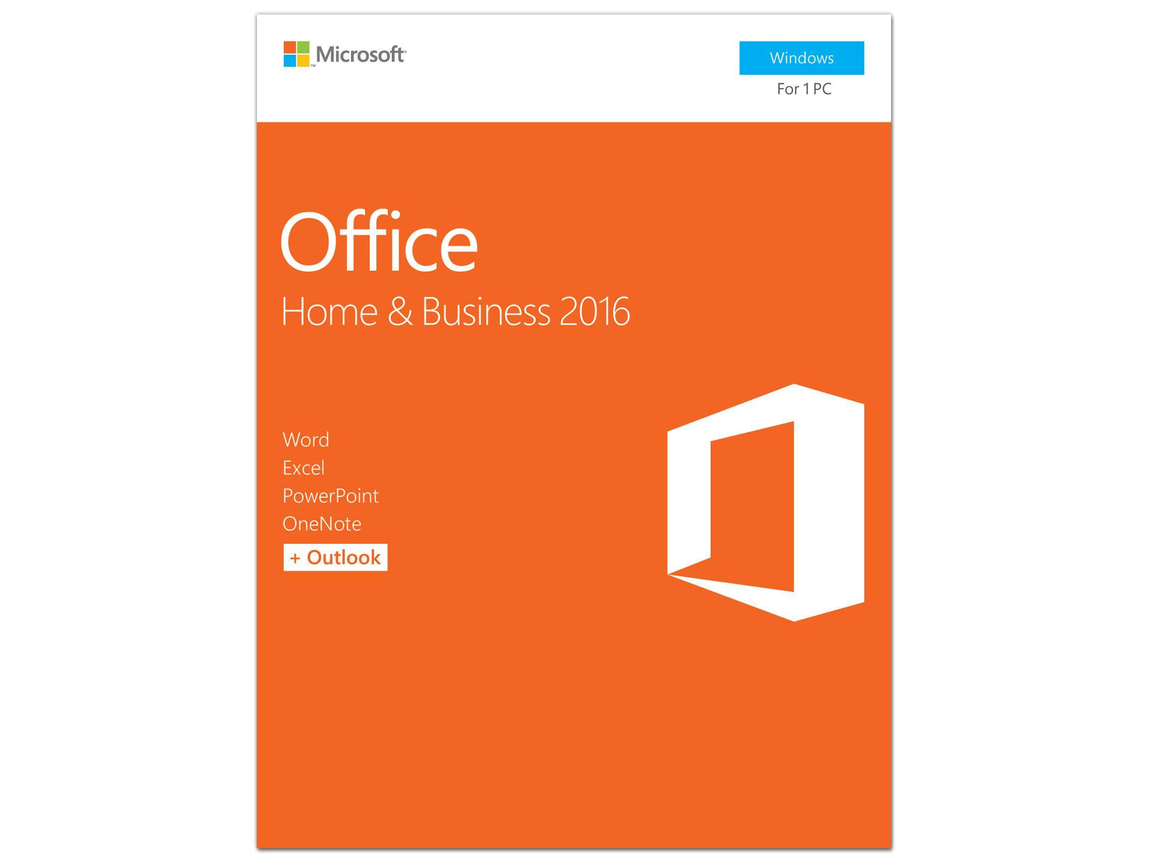 Microsoft Office Home and Business 2016 Product Key Card for $179.99 A/C