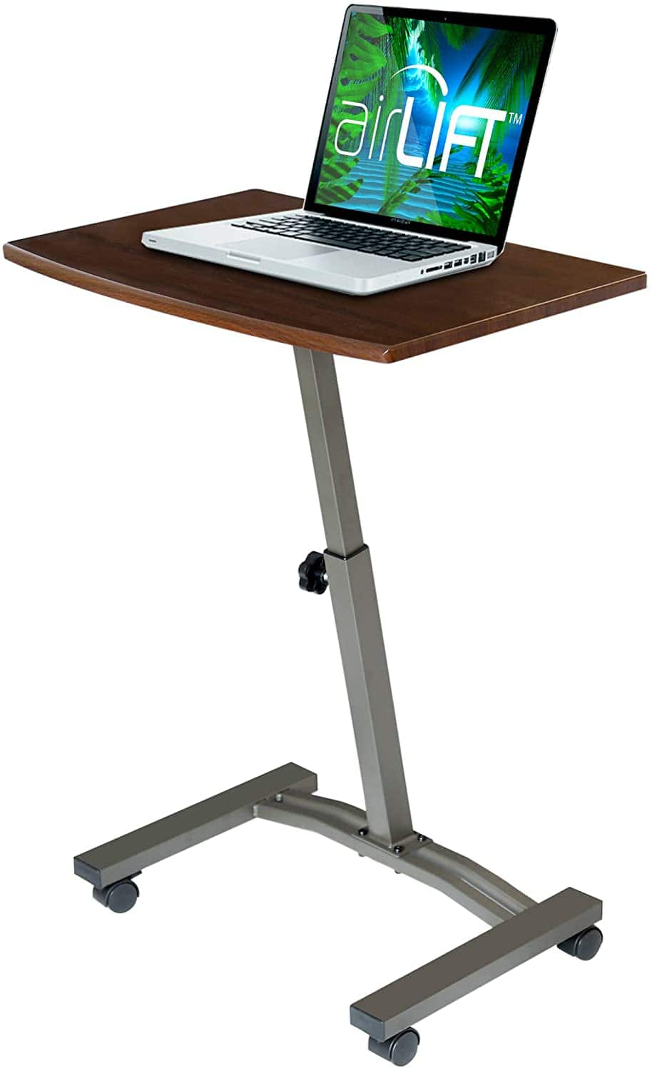 "Seville Classics 23.6"" Solid-Top Height Adjustable Mobile Laptop Desk+$33.88+FS+Amazon"