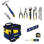 IRWIN Tools Sale @ Amazon 15% off Coupon 9,11,13 piece tool sets + more | $13-$110