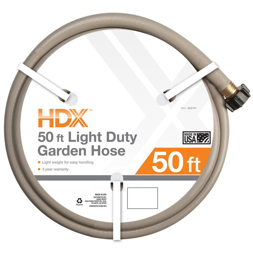 1/2 in. Dia x 50 ft. Light-Duty Water Hose -In Store  $2.53 YMMV @ Home Depot.