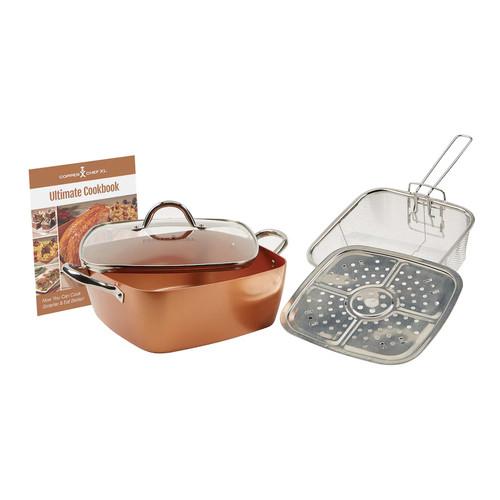Kohl's Cardholders: Copper Chef XL 5-pc Casserole Pan Set $35