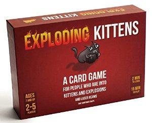 Exploding Kittens Lightning Deal
