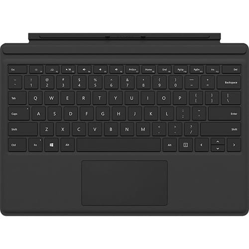 BB - Surface Pro 3 / Pro 4 Type Cover (Black ) w/ and w/o Fingerprint ID - On Clearance starting at $90.99