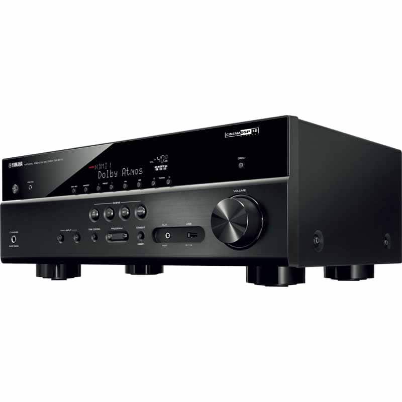 Yamaha TSR-7810BL  7.2-Channel Network AV Receiver 110W Per Channel Power - Black - Refurbished $359