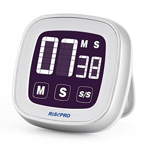 Touchscreen Digital Kitchen Cooking Timer W/ Alarm & StopWatch for $3.90 AC + FS W/ Amazon Prime.