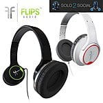 Flips Audio Headphones $23.99+ free shipping