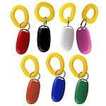 Pet Training Clicker with Wrist Strap, Train Dog, Cat, Horse, Pets, Set of 7 : Pet Supplies for $7.19