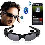 Wireless Bluetooth SunGlasses Headset Headphones Handfree For iPhone Samsung HTC US $11.95