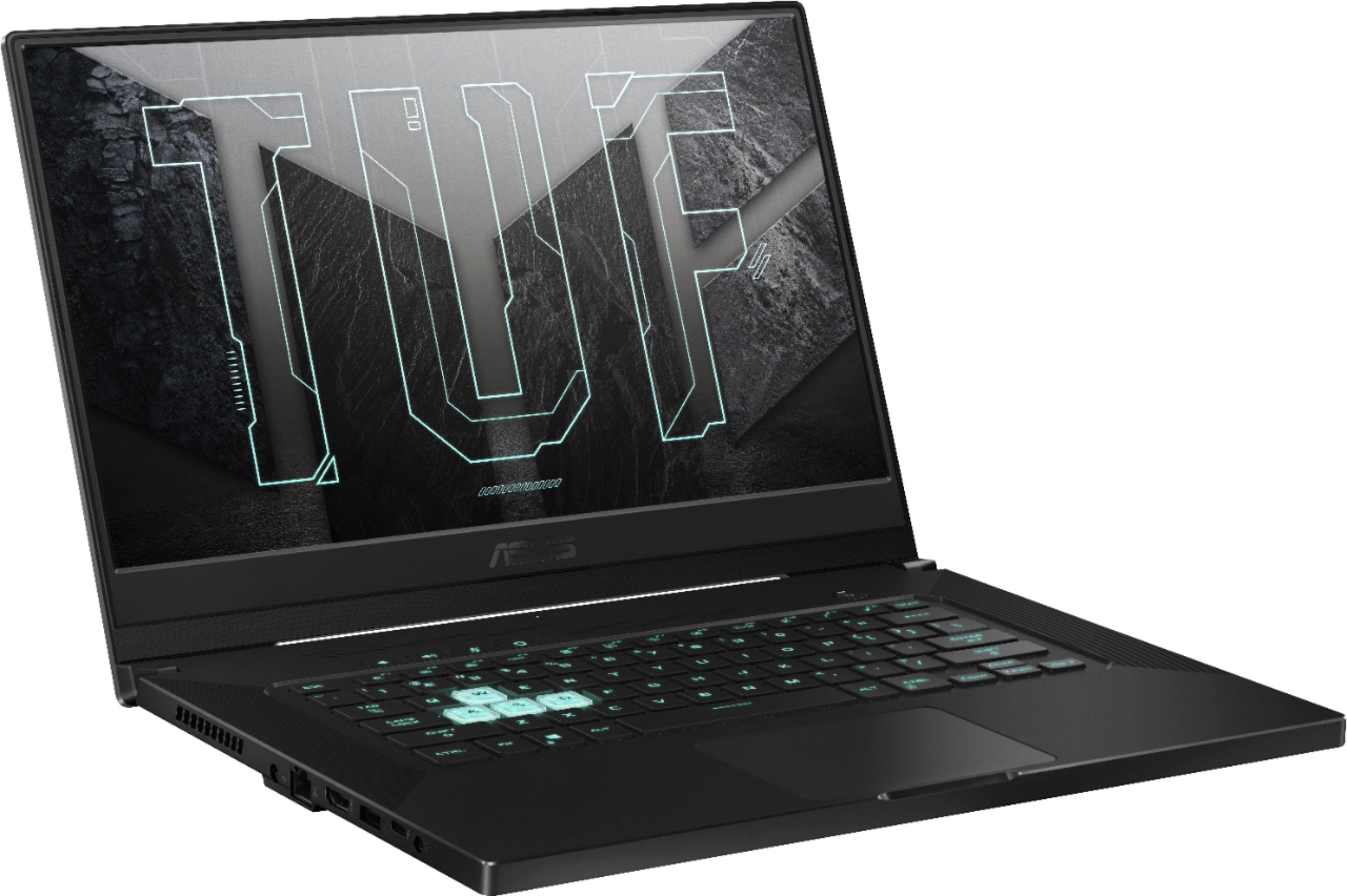 "Best Buy: ASUS - TUF 15.6"" Gaming Laptop - Intel 11th Gen i7 - 16GB Memory - NVIDIA GeForce RTX 3060 - 512GB SSD - Eclipse Grey - Eclipse Grey $1099.99"