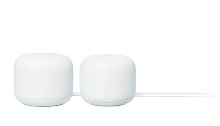 Google - Nest Wifi AC2200 Mesh System Router and Point (2-Pack) $189