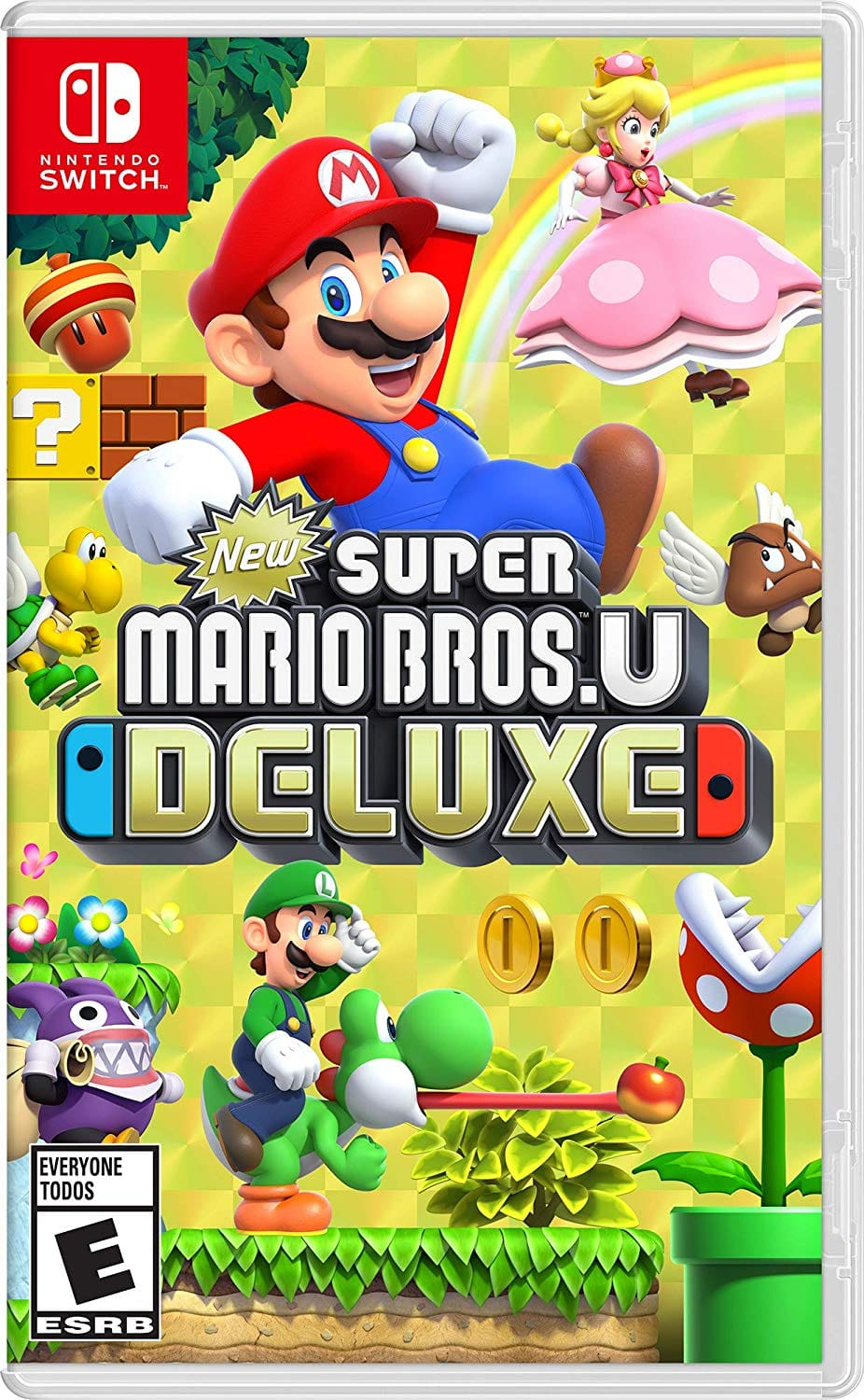 New Super Mario Bros. U Deluxe - Nintendo Switch Daily Steals via Facebook Marketplace $39.99 Region Free or Digital at Amazon for $39.99