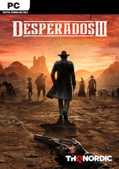 Desperados III (PC) Steam Key - $16.99