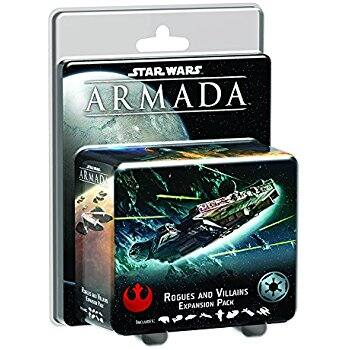 Star Wars Armada: Rogues and Villains Expansion Price Drop  (Free Prime Shipping) $10.39
