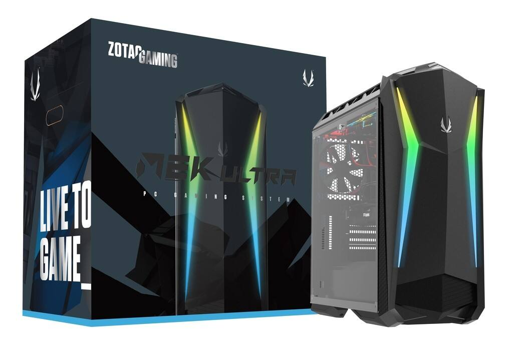 ZOTAC MEK Ultra Gaming Desktop PC: Intel Core i7-8700K