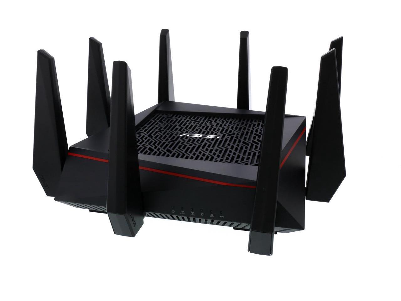 NEW ASUS RT-AC5300 Wireless AC5300 Tri-Band Gigabit Router $250 @newegg