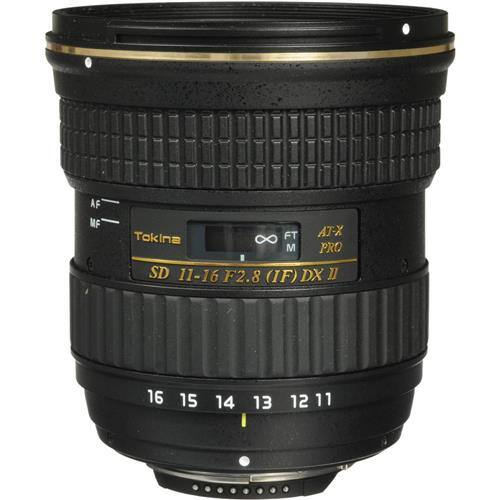 TOKINA 11-16MM F/2.8 ATX PRO DX II LENS FOR NIKON/Canon DX $330