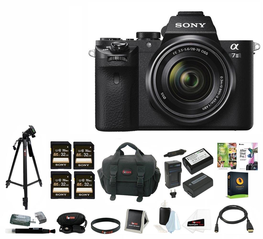 Brand NEW Sony A7 ii + bundle $838 (or kit $938)ac Rakuten via Authorized Dealers