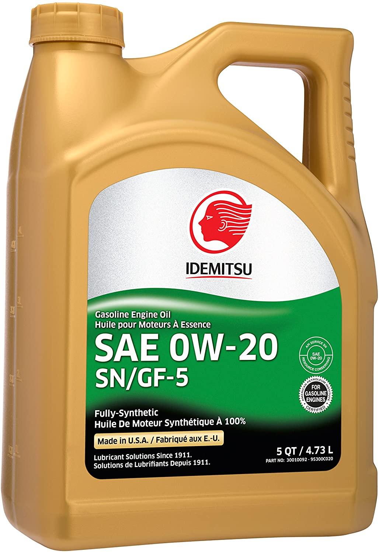 Idemitsu Full Synthetic Motor Oil $5