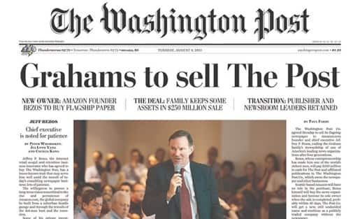 YRMV: Washington Post Online (Amazon Prime) only $19 per YEAR