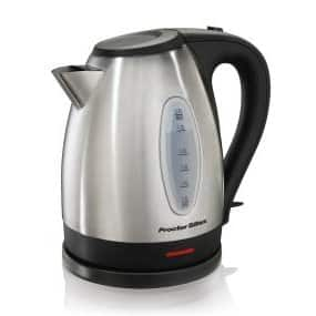 Proctor Silex 1.7L Stainlss Steel Electric Kettle $18.35