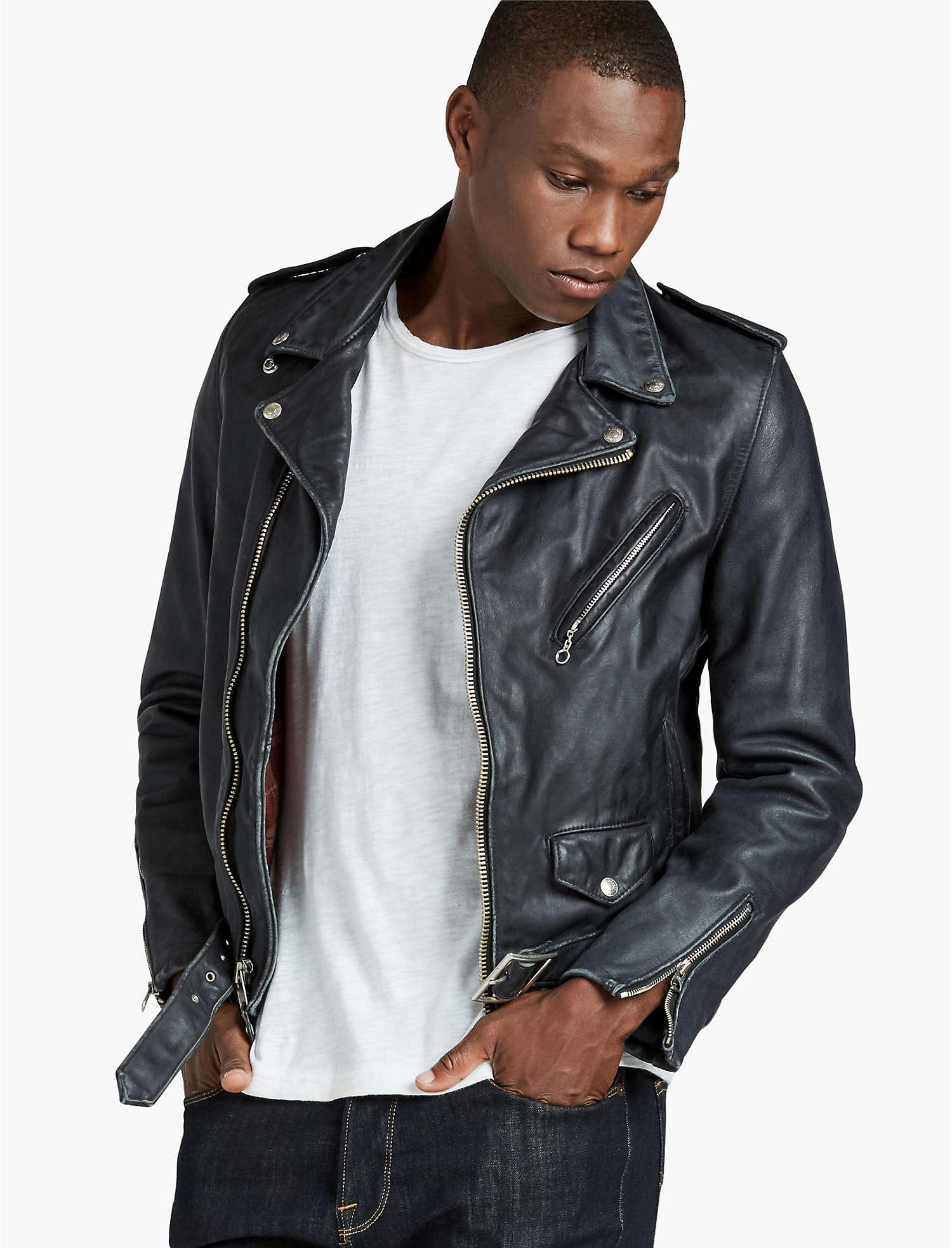 Schott X Lb Bowery Jacket // Schott Perfecto 626VN Vintaged Fitted Moto Jacket // $280