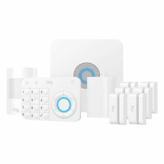 Costco Members: 10-Piece Ring Alarm Wireless Security Kit $189.99 + Free Shipping @Costco.com