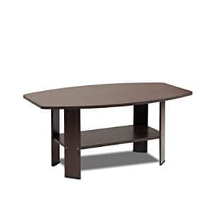 Furinno Coffee Table, Dark Brown $18.13