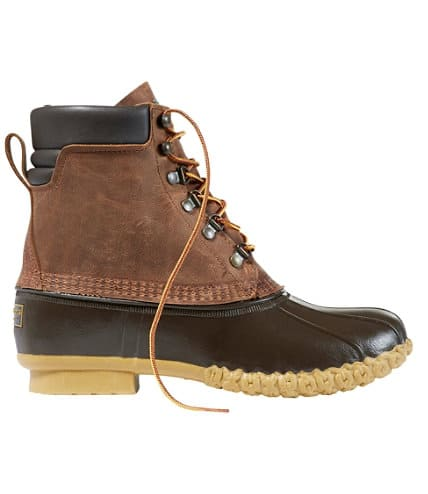 """Men's Bean Boots, 8"""" PrimaLoft/Gore-Tex (use 10% off for further discount) - $129"""
