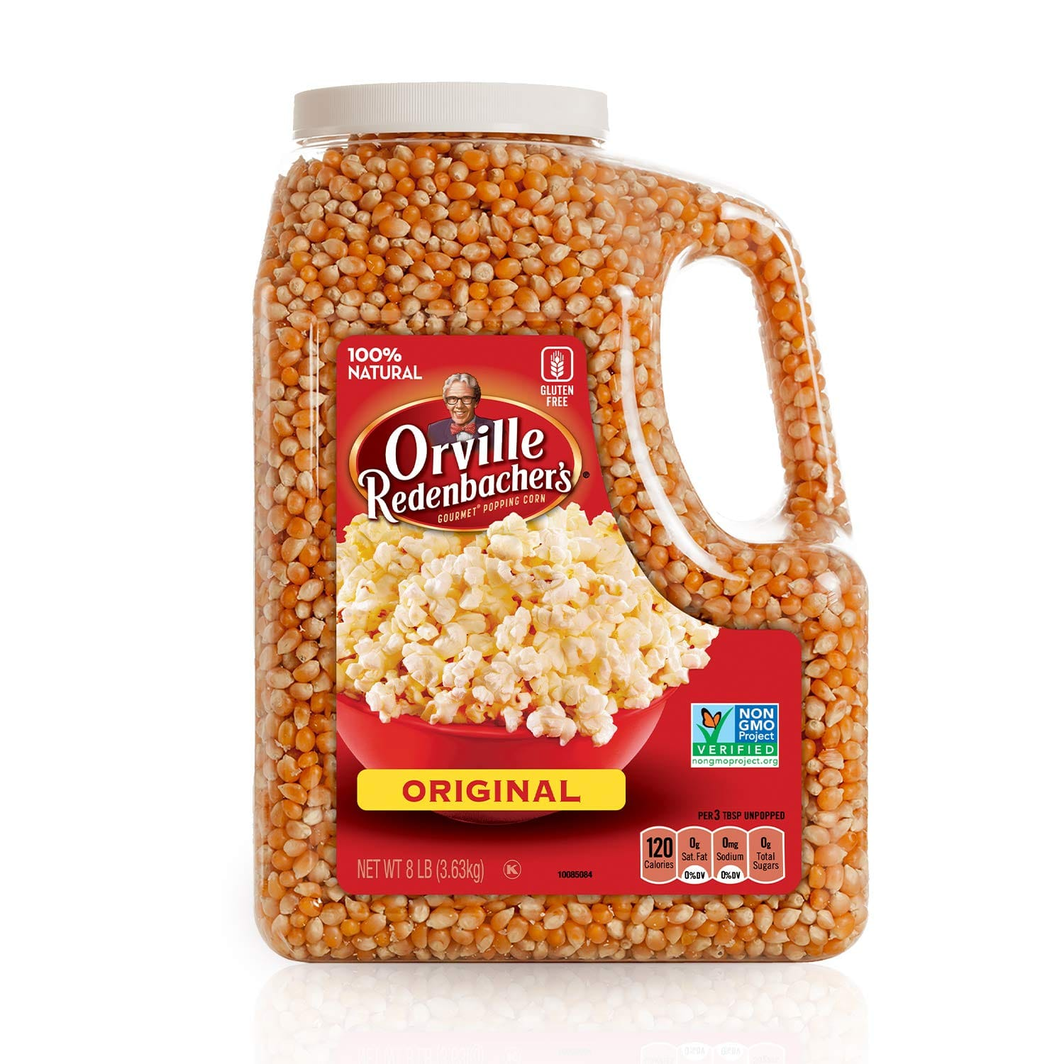 Orville Redenbacher's Gourmet Popcorn Kernels, Original Yellow, 8 lb with Free Shipping Amazon S&S $11.49 as low as $10.92