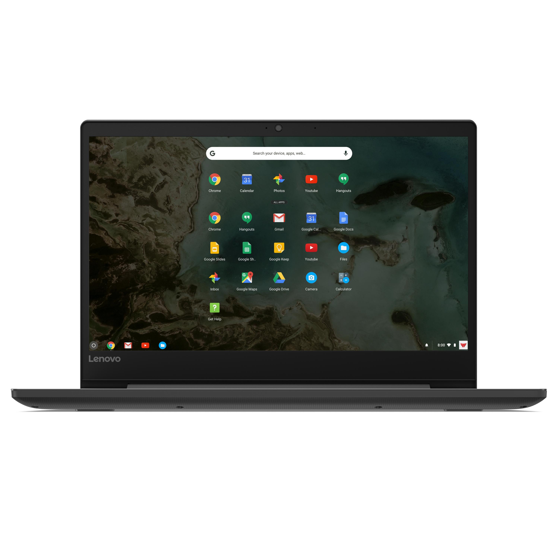 "Lenovo 81JW0001US Chromebook S330, 14"" HD Display, Mediatek MT8173C CPU 4GB RAM, 32GB eMMC SSD, Chrome OS, Black $159.99 with Free 2 Day Shipping"