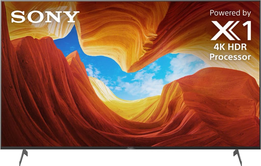 """Sony 65"""" Class X900H Series LED 4K UHD Smart Android TV XBR65X900H"""